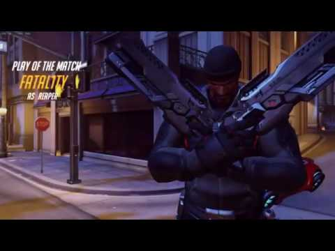 FATAL1TY with Reaper in Overwatch