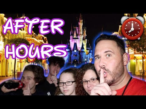 EXPLORING DISNEY WORLD AGAIN AFTER CLOSE (AFTER HOURS)