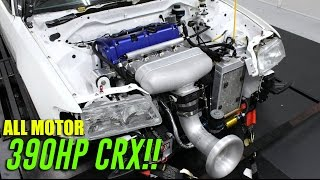 390HP All Motor CRX!! IPG PARTS CRX IS BACK