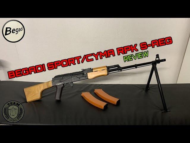 [REVIEW] BEGADI Sport/CYMA RPK-74 S-AEG