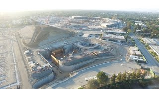 Apple Campus 2 Construction Update in 4K -- August 1, 2015