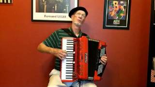 """Padam Padam"" on the Roland FR-7x V-Accordion by Richard Noel"