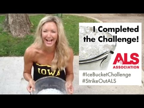 ALS Ice Bucket Challenge - Amy Jacobson