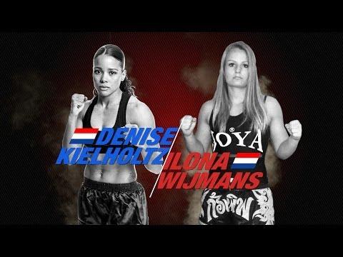 Ilona Wijmans (The Netherlands) vs Denise Kielholtz (The Netherlands)
