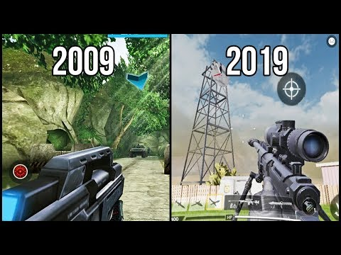 Evolution Of Android/iOS FPS Games 2009-2019