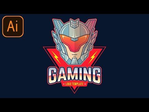 free-esports-gaming-logo-#10-|-clan/team/esport/mascot-|-adobe-illustrator-free-logo-templates