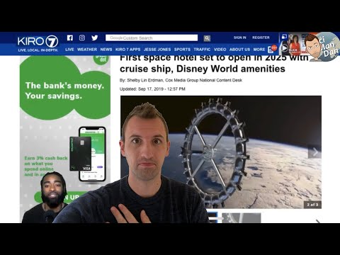 Space Hotel Shreds Flat Earthers World Apart! thumbnail