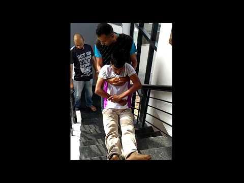 Rescue Evacuation - Shoulder Pull Method