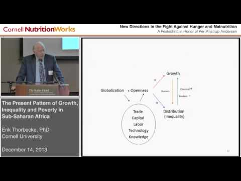 Erik Thorbecke - The Present Pattern of Growth, Inequality and Poverty in Sub-Saharan Africa