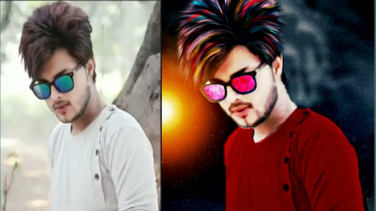 New CB Hairstyle Editing ★ Make Stylish Look in PicsArt ...