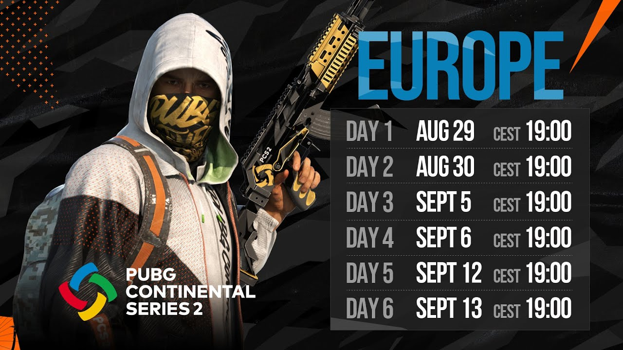 PCS2 Europe Finals • Day 6 • PUBG Continental Series
