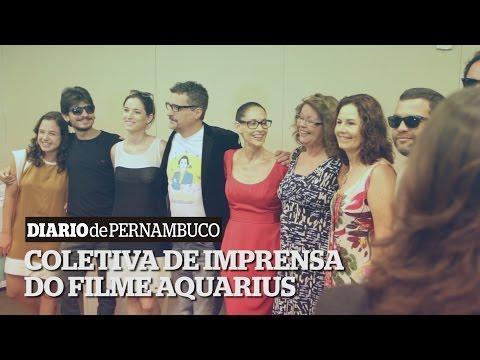 Coletiva de Imprensa do filme Aquarius no Recife | News Aquarius Movie Press in Recife