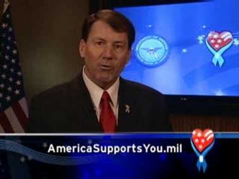 South Dakota Governor Mike Rounds Thanks the Troops