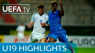 Under-19 highlights: France 1-2 England
