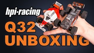 Little in a Big Way! | Unboxing HPI's Q32 Vehicles