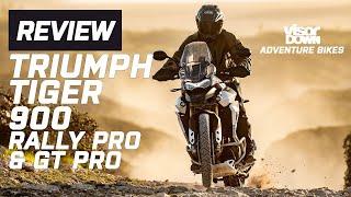 Triumph Tiger 900 Rally Pro & GT Pro Review | Visordown.com
