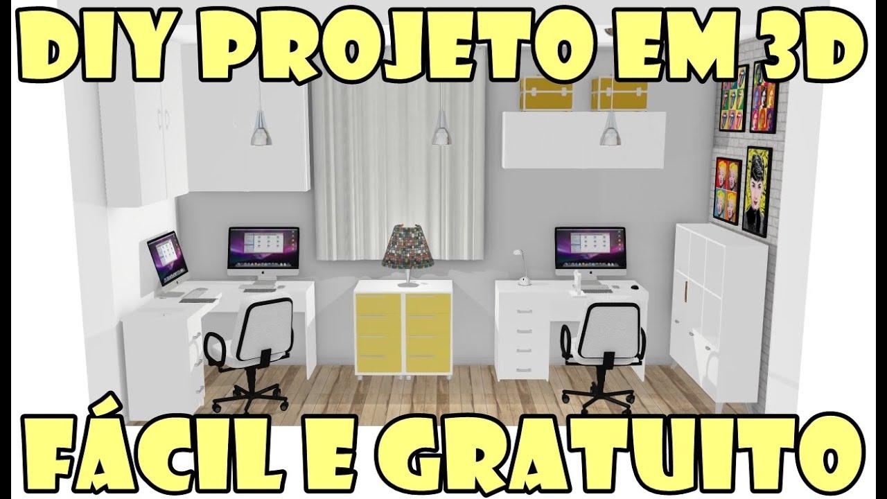 Como fazer projeto 3d gr tis programa mooble e politorno for Programa para cocinas 3d gratis