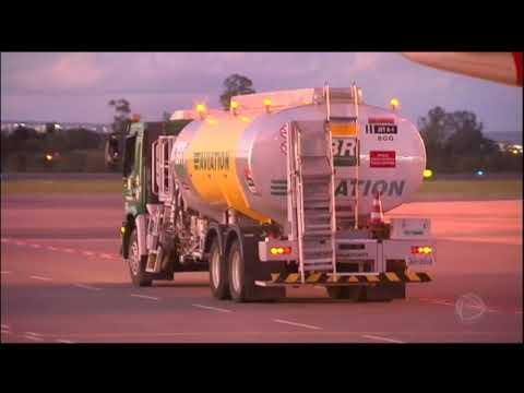 Dez aeroportos ficam sem combustível nesta segunda (28)