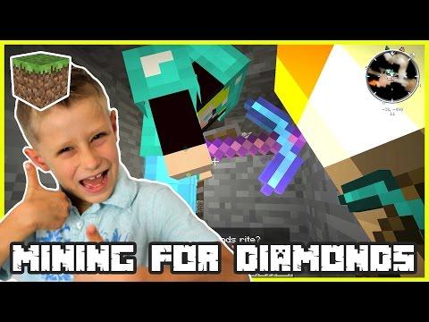 Mining for Diamonds / Minecraft