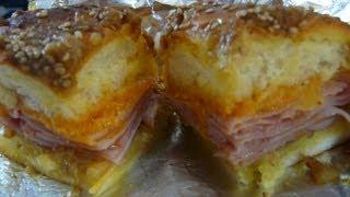 Ham & Cheese Sliders - How To Make Easy Ham & Cheese Sliders Recipe