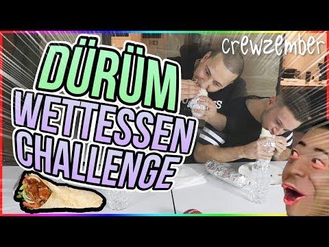 DÜRÜM WETTESSEN CHALLENGE | Crewzember