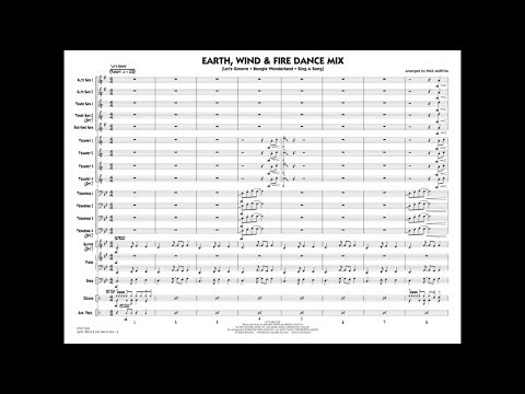 Earth, Wind & Fire Dance Mix Arranged By Paul Murtha