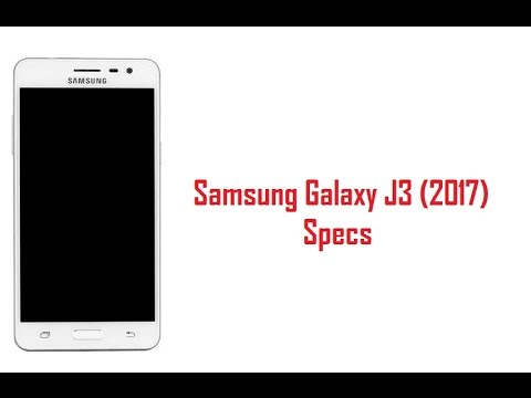 Samsung Galaxy J3 2017 Specs, Features & Price
