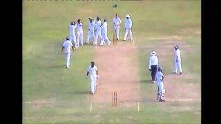 Left arm fast bowler - Gayan de Silva