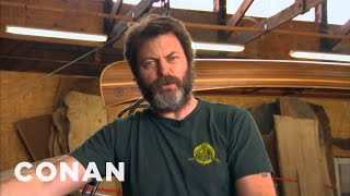 Repeat youtube video Nick Offerman Reads Tweets From Young Female Celebrities Vol. 9