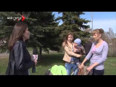 Интервью в парке Жукова