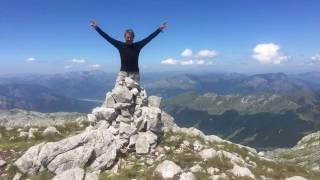 I summited the highest mountain in 11 countries in Europe on the ultimate European road trip :-)