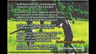 Punchi sithe punchi sina Neela wickramasinghe Lyrics.mp3