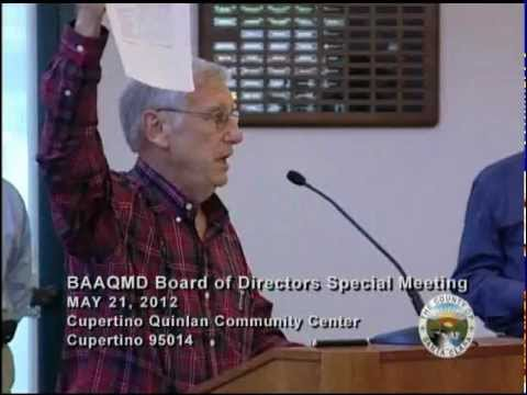 BAAQMD Board of Directors meeting, Reg. 9, Rule 13 update