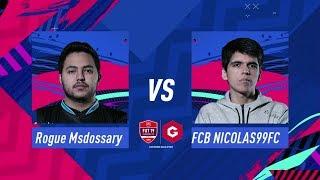 FIFA 19 Gfinity FUT Champions Cup December Grand Final Msdossary vs Nicolas99fc