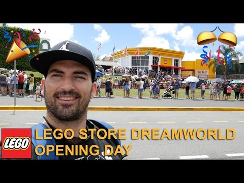 LEGO Store Dreamworld Opening Day - Australia