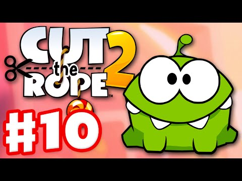 Cut the Rope 2 - Gameplay Walkthrough Part 10 - Fruit Market! 3 Stars! (iOS, Android)