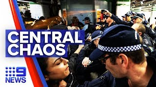 Police defend capsicum spray use against protesters | Nine News Australia
