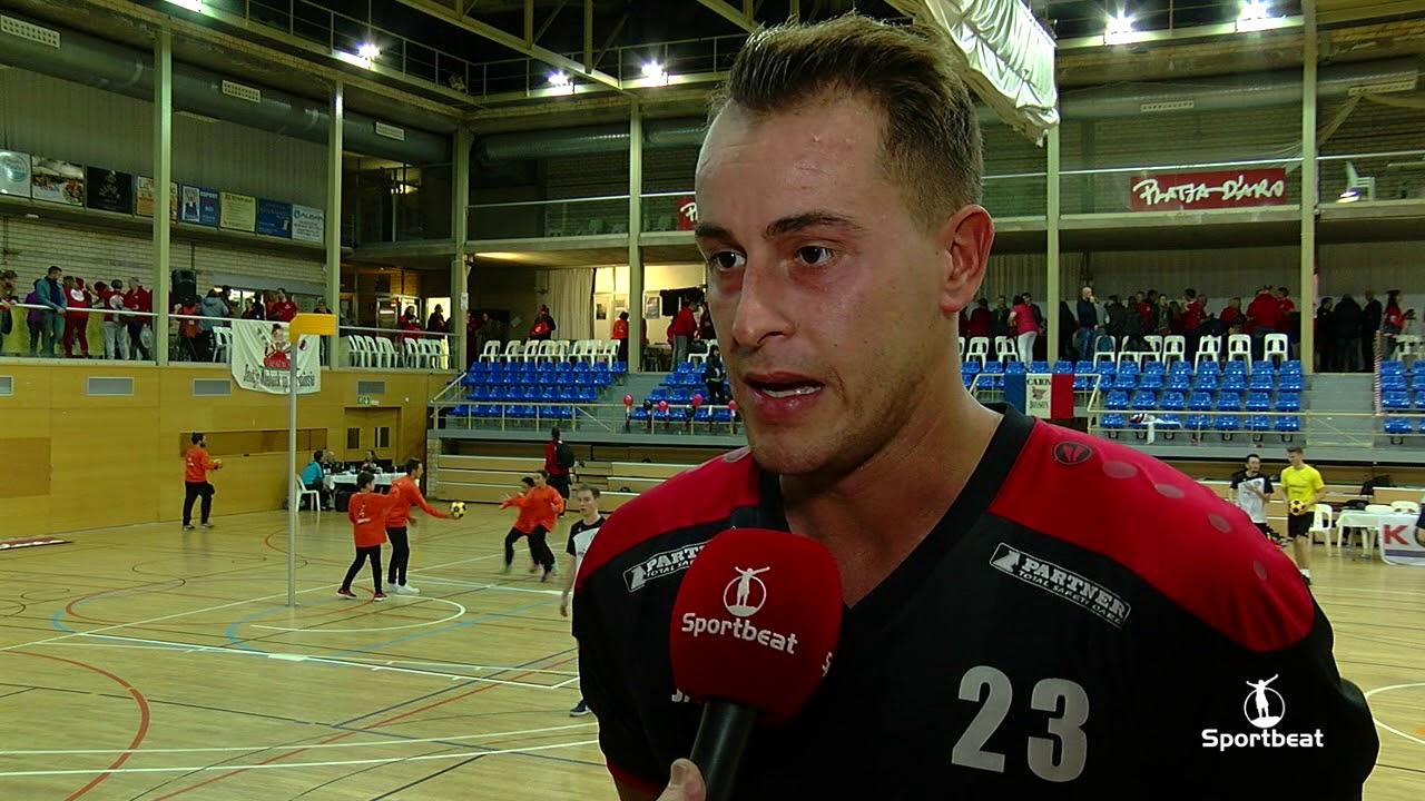 Yve Van Harneveldt na winst Kruisfinale Europabeker Barcelona #1