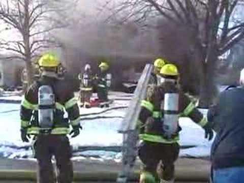Saginaw Township home burns