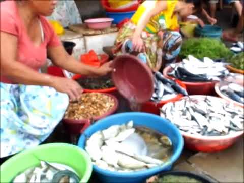 フィリピン・セブの貧民街 マクタン島ブアヤ村 市場とス〇ム街大潜入Sep 2016