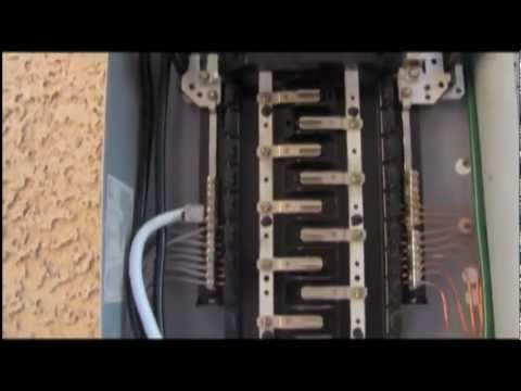 how to install a 100a sub panel 3 59
