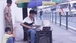 Blind Musician- Mantrade MRT Station
