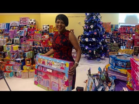 Thumbnail: Cafeteria Worker Saves $5,000 To Pay For Holiday Gifts For Children In Hospital