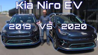 COMPARED: 2020 & 2019 Kia Niro EV (e-Niro)