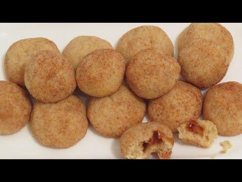 Mini Caramel Filled Snickerdoodles | CupcakeGirl