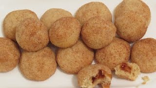 Mini Caramel Filled Snickerdoodles By Cupcakegirl