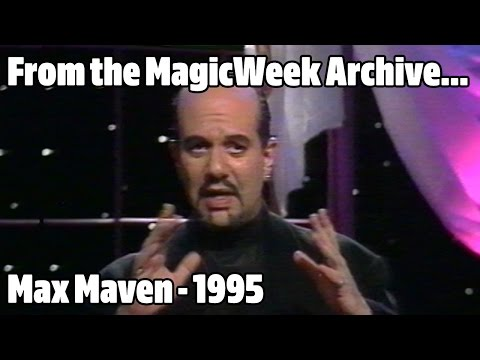 'Something Strange with Max Maven'  1995  MagicWeek.co.uk