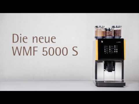 vollautomatische kaffeemaschine die neue wmf 5000 s youtube. Black Bedroom Furniture Sets. Home Design Ideas