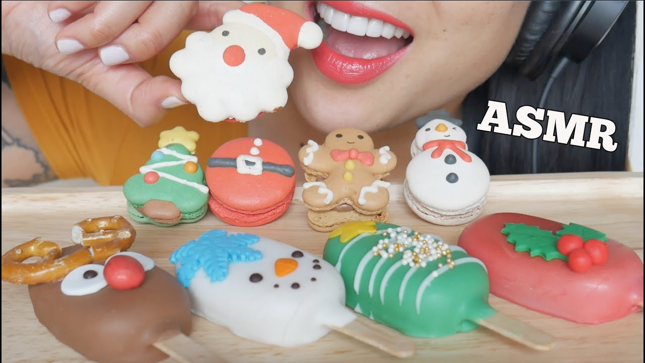 Asmr Christmas Cake Pops Macarons Eating Sounds No Talking Sas Asmr Youtube Not just any videos, asmr videos. asmr christmas cake pops macarons eating sounds no talking sas asmr