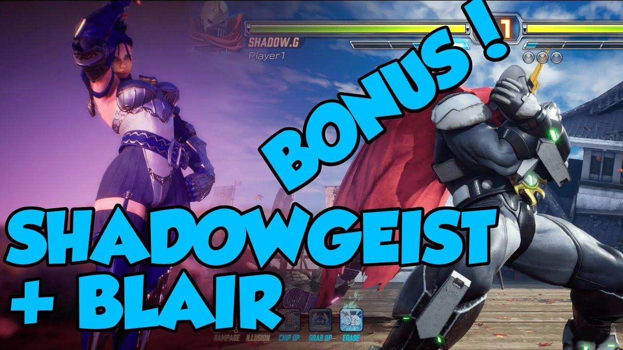 fexl blair shadowgeist bonus combos youtube youtube